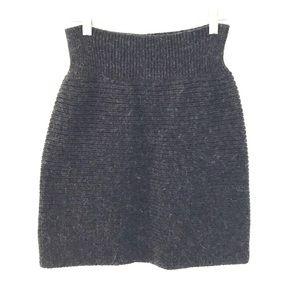 CHLOE ribbed knit skirt